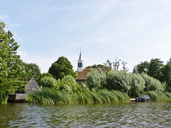 In Holland staat een kerk (monqpix) Tags: holland church netherlands watercountry zuiderwoude