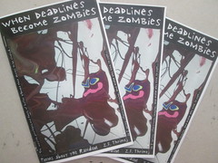 When Deadlines Become Zombies issue 10 audition of copies (yet jeff) Tags: brown zine abstract art illustration writing painting design weird words artwork comic acrylic mood graphic expression painted cartoon surreal fantasy messy animation weirdo sciencefiction curious wtf goof creature sick nonsense twisted bizarre audition rubble sarcasm scattered sadclown battered copies slapstick conceptart facialexpression messedup perzine zf picturewithwords issue10 slapstic wordsandpicture zfthrimej whendeadlinesbecomezombies thrimej puddingmascot whendeadlinesbecomezombies10 whendeadlinesbecomezombiesissue10 zinecopies copiesofmyzine