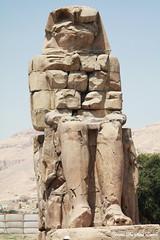Les Colosses de Memnon, Thèbes, Egypt