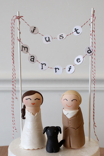 Wedding Peg People Figurines