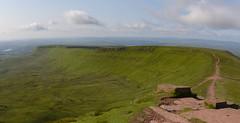 Panorama - Brecons Beacons National Park (timohannukkala) Tags: panorama wales landscape nationalpark unitedkingdom gb brecon libanus breacons d7100