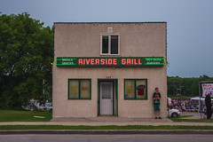 Riverside Grill (bryanscott) Tags: architecture building manitoba neon selkirk sign signage type typography canada sitm2bs