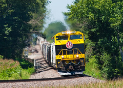 NS 1069 319 Duff IN 01 Aug 2015 (Train Chaser) Tags: train ns locomotive norfolksouthern virginian heritageunit ns1069