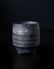 sake cup (miyukim26) Tags: stilllife photography japanese pottery speedlight madeinjapan productphotography sakecup alienskin japanesepottery strobelighting nikond600 exposure7 godoxvingv850