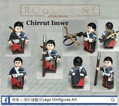 "Rogue One ""Chirrut Imwe"" (LMA Customs) Tags: starwars lego rogueone moc custom chirrut imwe force knight 樂高 星際大戰 樂高人偶彩繪 lmacustoms minifigures art 俠盜ㄧ號"