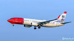 Norwegian Air International, Boeing 737-8JP(WL), EI-FJI, 37812, December 2016 (mhoejte) Tags: copenhagenairport ekch cph