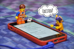 New Year's Resolution Planning! (parik.v9906) Tags: headphones indoors wire idea goals app notes apple iphone card jester emmet 365 project days 365days resolutions resolution planning 2017 newyear dslr d90 nikon minifigures minifigure minifig legos lego