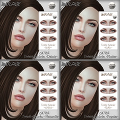 CATWA Tintable Eyelashes (MirageSL) Tags: mirage sl second life catwa mesh head eyelashes lashes appliers hud