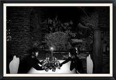Ensemble (Grace81 Capalini) Tags: grace81capalini timdeschanel soirée romantique restaurant heureux amoureux amour partage bougie