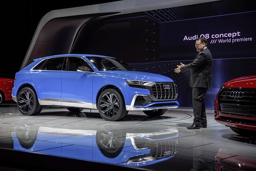 "Audi at the 2017 American Auto Show in Detroit <a style=""margin-left:10px; font-size:0.8em;"" href=""http://www.flickr.com/photos/128385163@N04/31383067484/"" target=""_blank"">@flickr</a>"