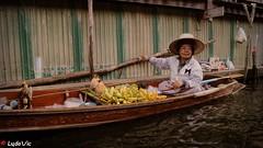 Damnoen Saduak Floating Market 01 (Ld\/) Tags: damnoen saduak floating market march flotant flottant thailande thailand thai typique asia asian asie