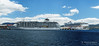 20170115-07-Golden Princess and The World cruise ships in Hobart (Roger T Wong) Tags: 2017 australia gildenprincess hobart rogertwong sel70300g sony70300 sonya7ii sonyalpha7ii sonyfe70300mmf2556goss sonyilce7m2 tasmania theworld boats cruiseships