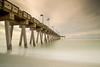Sharkey's Pier (Trojan Wonder) Tags: beach sand clouds movement colours foreshore long exposure pier