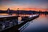Winter (Heli Hansen) Tags: skien norge norway winter longexposure reflections sunset dock river