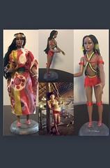 #Paulovadoll #clonedoll #Yanomami vintage doll restyling #muńeca de #Venezuela (qescobar78) Tags: paulovadoll yanomami clonedoll