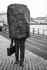 Le bureaucrate inconnu (ALAiN_FAURE) Tags: le bureaucrate inconnu unknow bureaucrat centre city ville reykjavik capital iceland islande tourisme holiday balade balad sculpture pierre rock sculptur alain faure alainfaure nikon d610