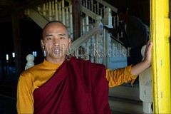 30098676 (wolfgangkaehler) Tags: asia asian southeastasia myanmar burma burmese inlelake taungtovillage villagelife villagescene village people person monastery monasteries buddhism buddhist buddhistmonk buddhistmonks buddhistmonastery buddhistmonasteries monk monks portrait closeup
