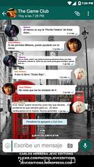 Captura Whatsaap Conversation Fake (CarlosHerreraJevc) Tags: whatsapp 2017 flickr fanartsjevc photoshop jevcupeditions persefone thegameclub socialmedia accountofficial wordpress ninawilliams annawilliams mortalkombat tekken mileena kotalkahn fanfics wattpad