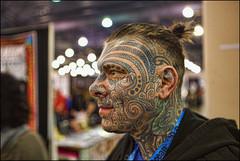 Philadelphia Tattoo Convention (raymondclarkeimages) Tags: canon 6d usa raymondclarkeimages 8one8studios rci philly philadelphia 2470mm28 people villainarts tattoo 2017philadelphiatattooartsconvention ink art bodypaint philadelphiaconventioncenter bodyart indoor skin flickr google yahoo