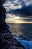Coucher de Soleil en Bretagne (nolyaphotographies) Tags: crozon roscanvel toulinguet large rade brest mer iroise nikon sea sun rise nuage bleu ciel vague wave falaise landscape seascape