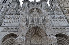 Rouen (Seine-Maritime) - Cathédrale Notre-Dame - Façade occidentale (détail) (Morio60) Tags: rouen seinemaritime 76 normandie cathédrale notredame