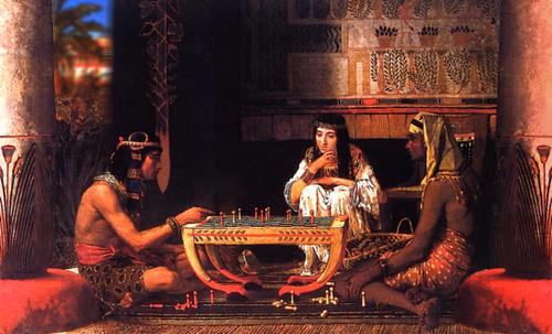 "Senet - Lujoso sistema de objetos lúdicos obsequio del dios Toht a la faraona Nefertari • <a style=""font-size:0.8em;"" href=""http://www.flickr.com/photos/30735181@N00/32399619581/"" target=""_blank"">View on Flickr</a>"