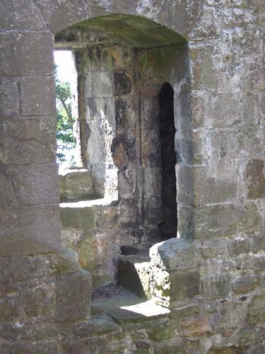 Lochleven Castle - detail