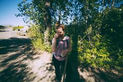 Beth N. (amandajensenphotography) Tags: friends me alaska nikon ak wideangle d750 talkeetna roadhouse rockstacking 14mm talkeetnaalaska talkeetnaak samyang susitnariver rocktowers chulitnariver talkeetnariver mandytakespix nikond750