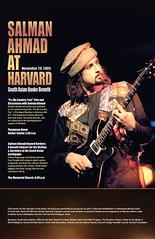 Salman Ahmad Visits Harvard University (Cambridge, MA)