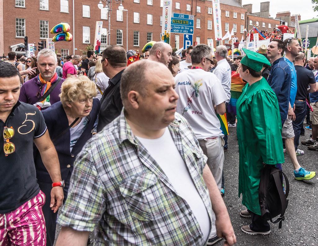 DUBLIN 2015 LGBTQ PRIDE PARADE [WERE YOU THERE] REF-106016