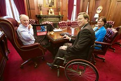 06-22-2015 Governor Bentley meets with Governor's Office on Disability
