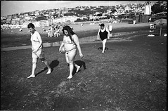 (Unhappy Campers) (Robbie McIntosh) Tags: leica boy blackandwhite bw woman film beach girl monochrome analog 35mm ball onthebeach 28mm streetphotography rangefinder stranger bn negative mum summertime mp analogue rodinal swimsuit rodinal150 biancoenero argentique bathers dyi selfdeveloped pellicola elmarit analogico leicamp adox leicam filmisnotdead supersantos adoxchs100 autaut lidomappatella leicaelmarit28mmf28iii mappatellabeach elmarit28mmf28iii
