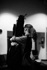 _ (kylemahaneyphotography) Tags: girl holding hug guitar