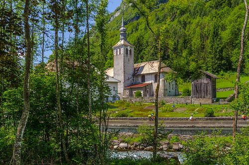 Église du XXIIIème siècle de Sixt-Fer-à-Cheval