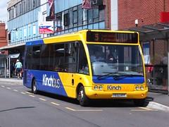 Kinchbus 458 Loughborough (Guy Arab UF) Tags: bus buses solo loughborough 458 optare kinchbus wellglade m920 wellgladegroup fe02kff