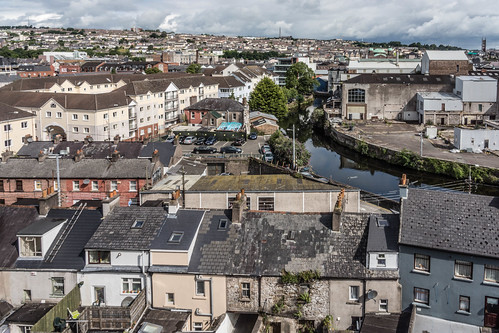 VIEWS OF THE CITY FROM THE WALLS OF ELIZABETH FORT [CORK] REF-106688