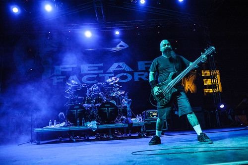 Fear Factory, Explosive Stage @ EXIT Festival 2015