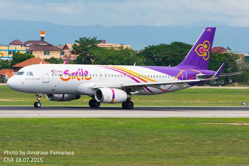 HS-TXO // THAI Smile Airbus A320-232