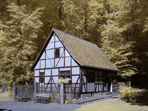 Infrared - Halftimbered House