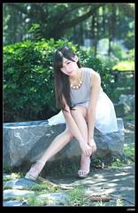 nEO_IMG_DP1U8063 (c0466art) Tags: light portrait cute beautiful female canon model eyes asia long legs sweet outdoor good large taiwan lips showgirl figure lovely pure  1dx c0466art