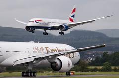 IMGP0220_G-ZBJE_GLA (ClydeSights) Tags: emirates boeing britishairways gla glasgowinternationalairport diversion 773 boeing777 firstvisit boeing777300 788 dreamliner boeing787 77731her egpf b788 b7878 ba191 boeing7878 a6egq cn41076 gzbje cn38612