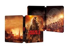 Godzilla (Amazon Exclusive) (Blu-ray 3D/Blu-ray) (Japan) (gigan72ofTohoKingdom) Tags: japan set three 3d amazon godzilla bonus disc 2d 2014 bluray amazoncojp steelbook exclsuive