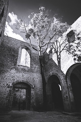 Palermo (Colors in B&W) Tags: church architecture arches palermo spasimo