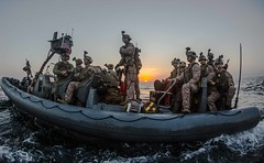 161217-M-WQ703-001 (Official U.S. Navy Imagery) Tags: marines maritimeraidforce 11thmarineexpeditionaryunit 11thmeu rigidhullinflatableboat rhib visit board searchandseizure vbss exercisealligatordagger makinislandamphibiousreadygroup us5thfleet navy usnavy gulfofaden