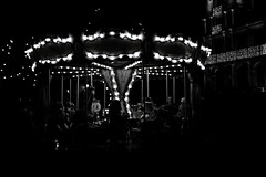 Carrousel (Victor Agudo) Tags: carrousel dark flirck spain toledo bw blackandwhite town beautiful lost 2016