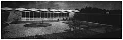 Churchill Jr. High School courtyard, 1964 (Ereiss1) Tags: vintage eastbrunswick nj
