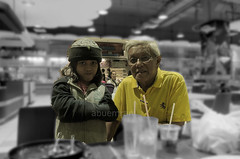 Grandpa & Granddaughter (aeab@) Tags: time just two family grandfather granddaughter abu bakar talib maryammardhiyya