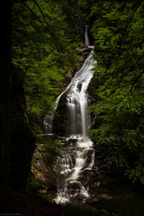 Moss Glen Falls, Stowe, Vermont, 2014 (Mark Messersmith) Tags: falls waterfall vermont nature water stowe mossglenbrook flowingwater greenmountains mossglenfalls canoneos60d unitedstates us
