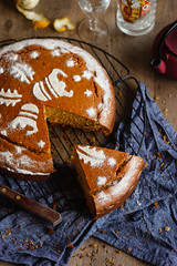 IMG_8345_exp-2 (Helena / Rico sin Azúcar) Tags: bizcocho cake vasilopita vanilla vainilla orange naranja anís anise cardamomo cardamom mantequilla butter food christmas navidad postre dulce dessert greece