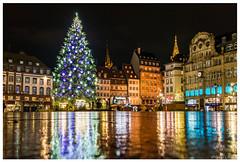 Marché de noël de Strasbourg 2016 (Yves Schmitt) Tags: slta77 strasbourg marché de noel alsace architecture sony 2016 alpha 77 nuit